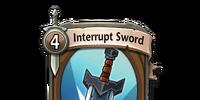 Interrupt Sword