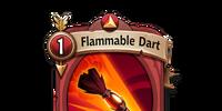Flammable Dart