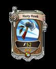Melee 1 CARD HERO HASTY HAWK