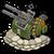 Veh anti aircraft gun premium icon