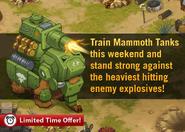 Mammoth Tank Promo