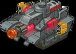 Veh tank plasma front