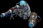 S laser sniper front