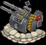 Veh anti aircraft gun premium front