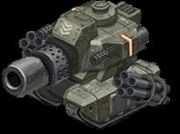 Veh tank mega rebel front