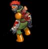 Hero cast perkins zombie