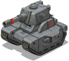 Heavytank front grey