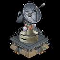 Deco satellite tower icon~ipad