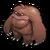 S bigfoot adult icon