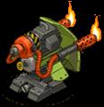 Veh ign turret flame back