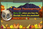 Thanksgiving Vault Promo