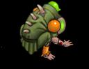 S trooper zombie spitter back