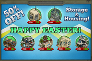 Easter Sale 2015 Promo