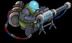 S laser sniper back