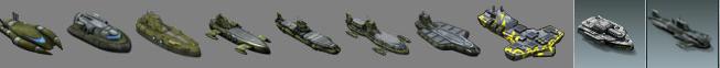 Ship Lineup.