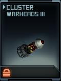 Cluster Warheads III