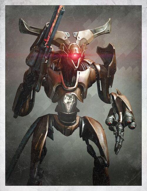A3 battle robot