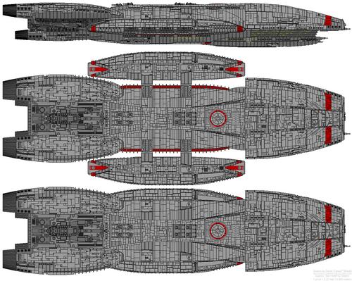 Jupiter class battlestar