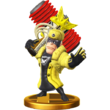 SSB4 Trophy - Wonder Yellow
