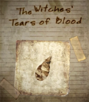 The Witches' Tears of Blood