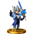 SSB4 Trophy - Wonder Blue