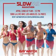 Baywatch SloMo Marathon announcement
