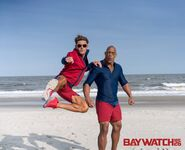 Baywatch promo Mitch and Matt