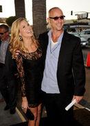 Brooke with her husband Gavin