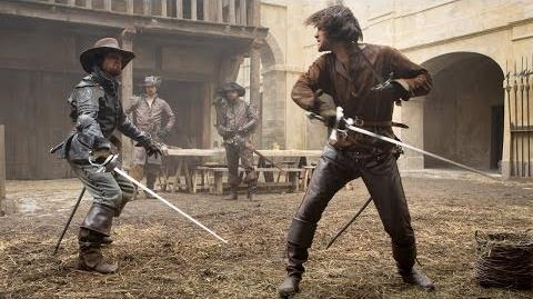 THE MUSKETEERS & The Art of Swordfighting Exclusive Inside Look - New Series JUNE 22 BBC AMERICA