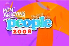 BBC Most Annoying People 2008