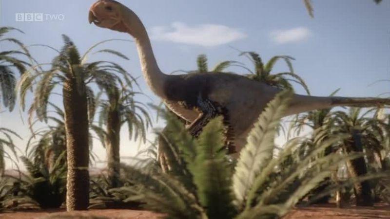 Image - Giant Oviraptorid.jpg | BBC Planet Dinosaur Wiki ...