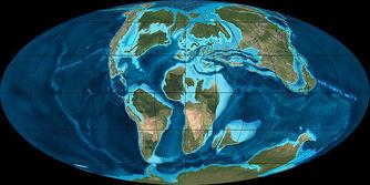 Cretaceous earth