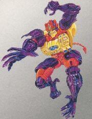 Optimus Minor Package Art