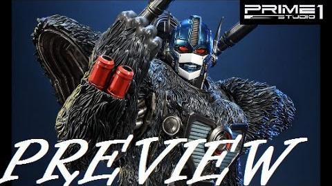 Prime 1 Studio Transformers Beast Wars Optimus Primal Statue PREVIEW