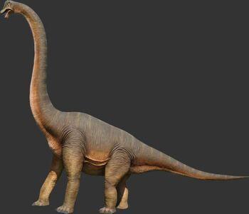 Brachiosaurus-statue