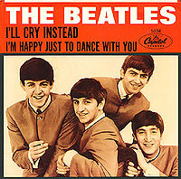 File:I'll Cry Instead/I'm Happy Just To Dance With You single cover.jpg