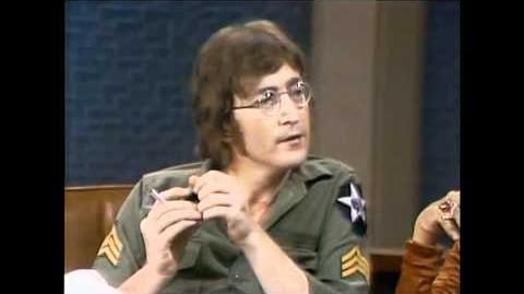 John Lennon & Yoko Ono on the Dick Cavett Show