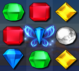Bejeweled 3 Blue Butterfly