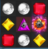 Locking Gems- Bejeweled Twist