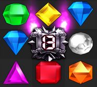 Bejeweled Twist Doom Gem