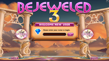 Bejeweled 3 Welcome New User