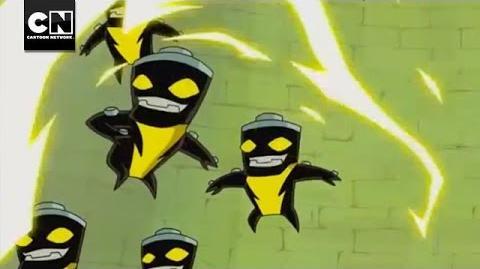 Omniverse Buzzshock Battle Ben 10 Cartoon Network