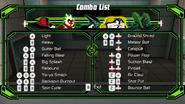 Cannonbolt combo list