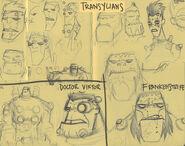 Transylian Sketch