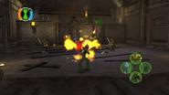 Swampfire fight