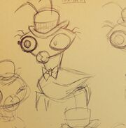 Ball Weevils species Concept art