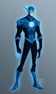 Blue lantern flash by ericguzman-d5v7xgg