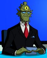 Harangue alien