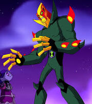 Swampfire in omniverse new form