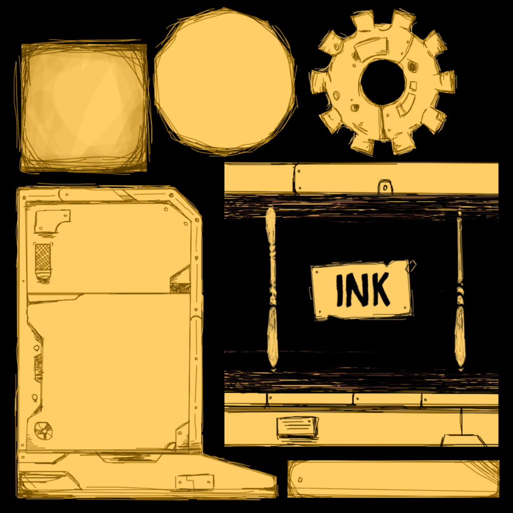 unused textures bendy and the ink machine wiki fandom